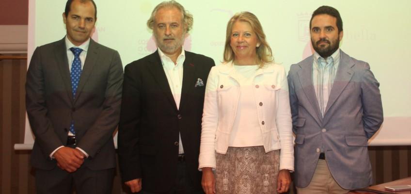 Ángeles Muñoz, ha asistido esta mañana, en el Hotel Villa Padierna Palace