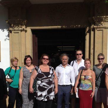 El Ayuntamiento atiende la visita de un grupo de agentes de viaje de American Express