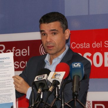 """BERNAL EXIGE UNA """"VERDADERA"""" GESTIÓN TRANSPARENTE AL FRENTE DEL AYUNTAMIENTO DE MARBELLA"""