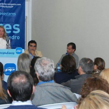 Ángeles Muñoz reivindica la gestión del PP