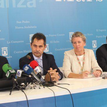 Apuesta de Vodafone por Marbella con el inicio del despliegue de la red de fibra en la ciudad
