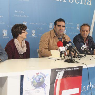 Arama, Sampedreña, Gacar y Arana en la celebración del Día Mundial Sin Alcohol