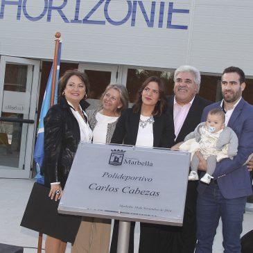 El nombre del jugador de baloncesto Carlos Cabezas al polideportivo de Bello Horizonte