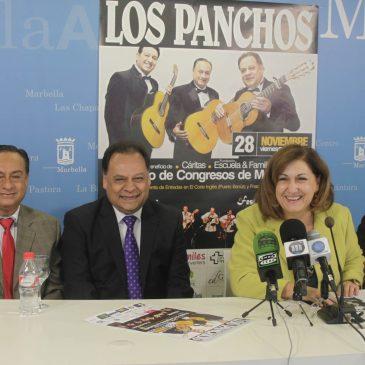 El grupo mejicano 'Los Panchos' actuará el 28 de noviembre en Marbella