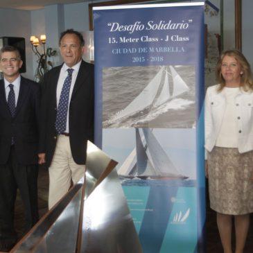 """la regata 'Desafío Solidario 2015-2018 Puerto Banús' """"supondrá un refuerzo de la marca Marbella"""""""