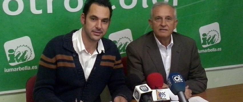 IU propone medidas para acabar con los cortes de agua por impago que sufren al año 500 familias de Marbella