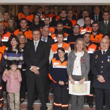 Protección Civil entrega medallas a sus voluntarios, ciudadanos y entidades en reconocimiento a su labor desinteresada y vocación de servicio