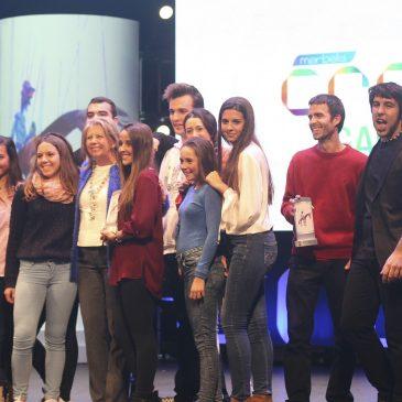 Gala del programa de ocio Marbella Crea 2014 con la entrega de premios
