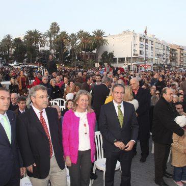 El bulevar de San Pedro Alcántara entra en funcionamiento como un referente turístico de calidad en la provincia