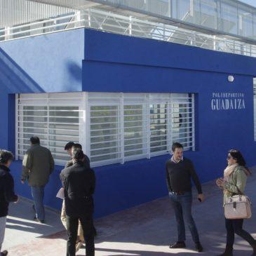 El Ayuntamiento dota al Polideportivo de Guadaiza de nuevos vestuarios con una superficie de 320 metros cuadrados