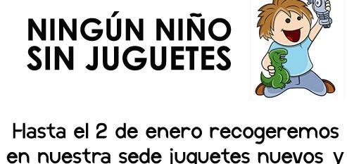 OSP INICIA SU RECOGIDA ANUAL DE JUGUETES PARA ENTREGAR A LOS MÁS NECESITADOS