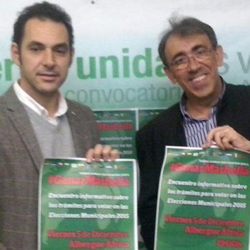 IU realiza un llamamiento a la participación de la comunidad extranjera en las elecciones municipales