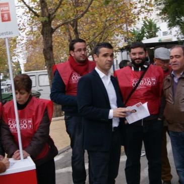EL PSOE INICIA LA CAMPAÑA DE RECOGIDA DE PROPUESTAS PARA EL PROGRAMA ELECTORAL