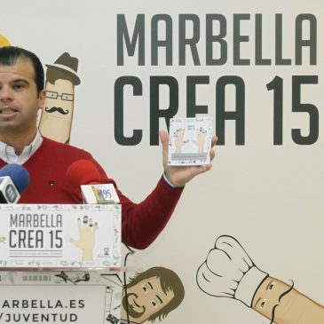 Comienza 'Marbella Crea 2015' con la apertura del plazo de participación de la Muestra Joven de Literatura