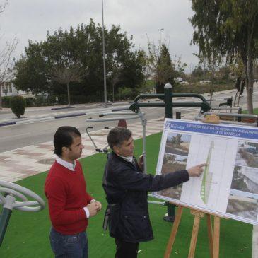 El Ayuntamiento pone en valor una parcela municipal del Trapiche Norte con una nueva zona de recreo