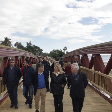 El Ayuntamiento finaliza el tramo de Paseo Marítimo entre los arroyos Pozuelo y Segundo dentro de los trabajos de conexión del litoral