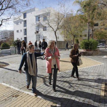 El Ayuntamiento finaliza los trabajos de renovación del parque V Centenario de Marbella