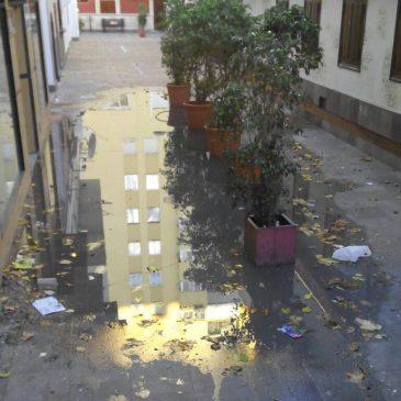 IU pide a Ángeles Muñoz responsabilidades por la mala ejecución de las obras de la Plaza de la Libertad