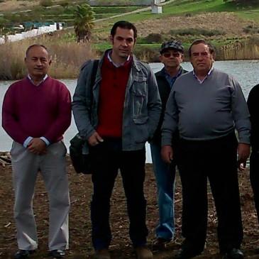 IU reitera la petición de una actuación integral en el entorno del pantano de Las Medranas de San Pedro