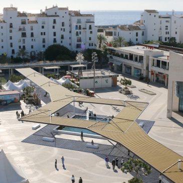El Ayuntamiento revitalizará la plaza Antonio Banderas de Puerto Banús con una obra de remodelación integral