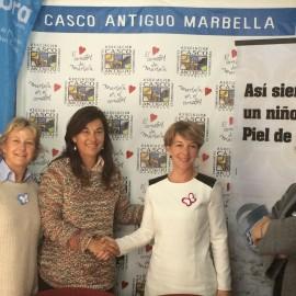 """""""DEBRA ESPAÑA"""" NOMBRADO SOCIO DE HONOR POR LA ASOCIACIÓN DE COMERCIANTES DEL CASCO ANTIGUO DE MARBELLA"""