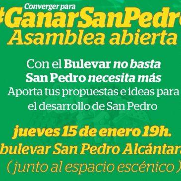 IU convoca un encuentro abierto para recoger propuestas para el impulso y la activación de San Pedro Alcántara