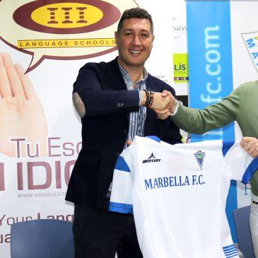 Marbella FC e Instituto Internacional de Idiomas firman un nuevo acuerdo de colaboración