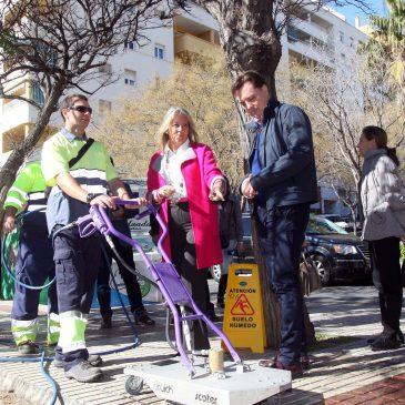 El Ayuntamiento incorpora nueva maquinaria para avanzar en los niveles de limpieza viaria del municipio