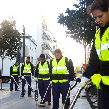 El Ayuntamiento pone en marcha un nuevo servicio de retirada de chicles de la vía pública
