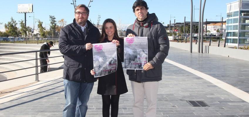 El Ayuntamiento y Apymespa organizan este fin de semana un mercado urbano en el bulevar de San Pedro con motivo del día de San Valentín