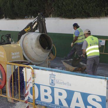 mejora la accesibilidad y la pavimentación de la calle Fray Agustín de San Pascual