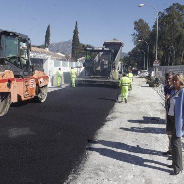 El Ayuntamiento asfaltará este año 125 viales en todo el término municipal