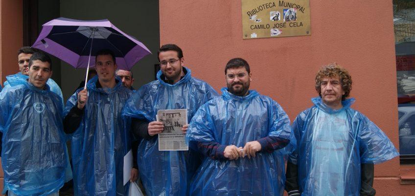 EL PSOE PREGUNTA A MUÑOZ SI GARANTIZA QUE LAS INSTALACIONES DE LA BIBILIOTECA SON SEGURAS PARA LOS USUARIOS