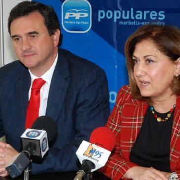 """El PP Marbella iniciará este viernes la campaña para las elecciones autonómicas con una """"pegada de carteles virtual"""""""