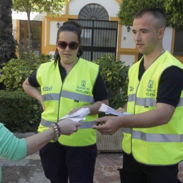 El Ayuntamiento potencia la limpieza en Semana Santa con un dispositivo de más de 300 operarios y novedades dirigidas a la concienciación ciudadana
