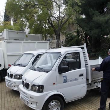 El Ayuntamiento refuerza la flota municipal de limpieza con cuatro nuevos vehículos para ampliar y potenciar el servicio prestado