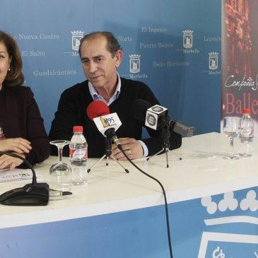 """El Teatro Ciudad de Marbella pondrá en escena este sábado la obra de danza española y flamenco """"El perfume"""" a cargo del Ballet Zambra"""