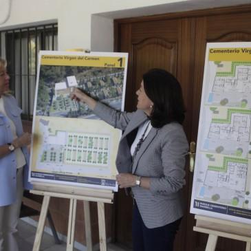 El Ayuntamiento renovará en el plazo de un año los tres cementerios del municipio para ofrecer unas instalaciones más modernas y funcionales