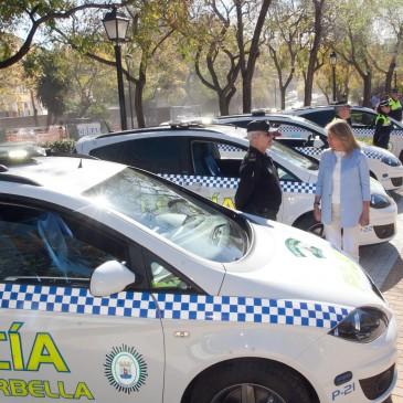 El Ayuntamiento incorpora 19 nuevos vehículos y completa la renovación de la flota de la Policía Local