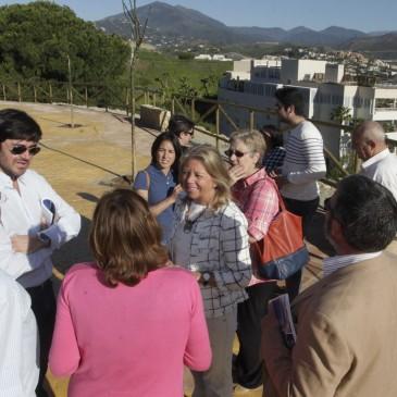 El Ayuntamiento finaliza los trabajos de revitalización del Mirador de Nueva Andalucía