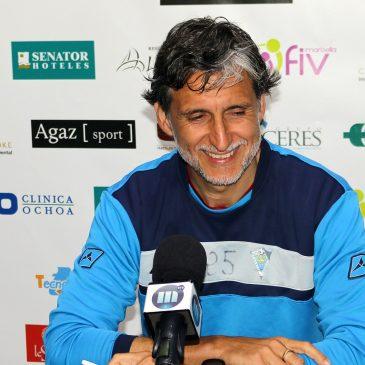 """Pablo Alfaro: """"Nuestro objetivo es entrenar lo mejor posible para ir a Granada a ganar"""""""