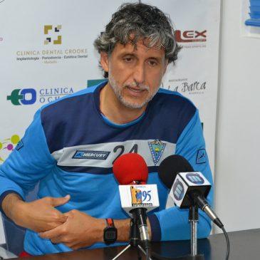 """Pablo Alfaro: """"El partido en Lorca no es una final, pero sí es muy importante"""""""