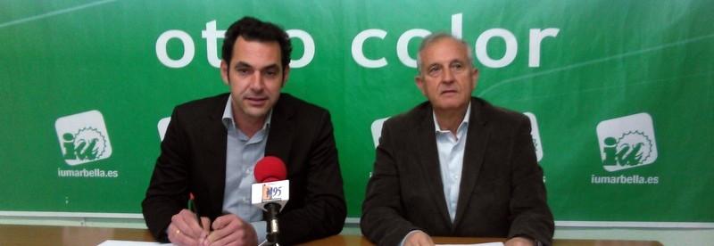 IU defiende ante el Pleno propuestas para crear empleo, mejorar la oferta turística y exigir inversiones para Marbella