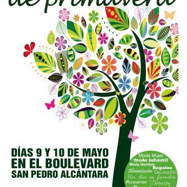 El Bulevar de San Pedro Alcántara acogerá el 9 y 10 de mayo el Mercado Urbano de Primavera