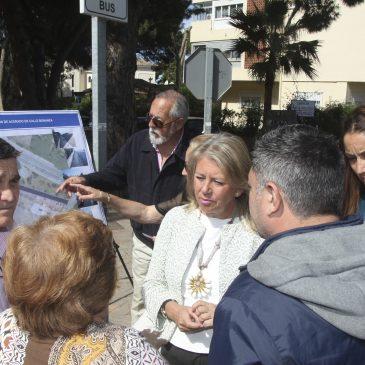 El Ayuntamiento realizará una nueva actuación en Las Chapas con las nuevas aceras y el asfaltado de la calle Bonanza