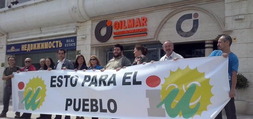 IU llama a la ciudadanía a acabar con el neogilismo poniendo fin en las urnas al gobierno de Ángeles Muñoz