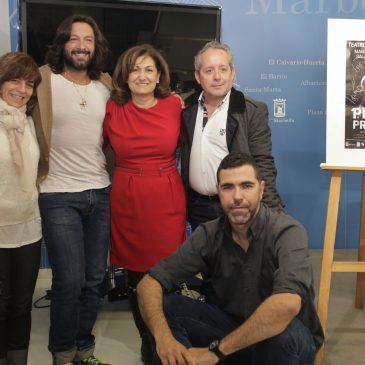 El Teatro Ciudad de Marbella acogerá este fin de semana la obra 'Piedras preciosas' protagonizada por Rafael Amargo y Manuel Salas