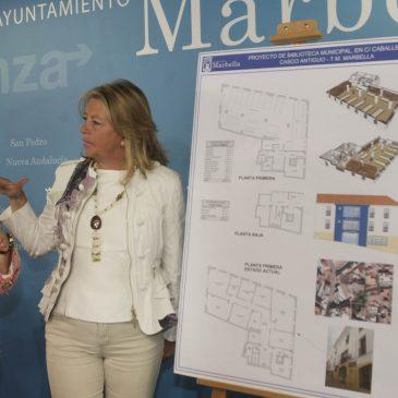 El Ayuntamiento sumará a la red de bibliotecas municipales dos instalaciones en las calles Caballero y Paco Ostos