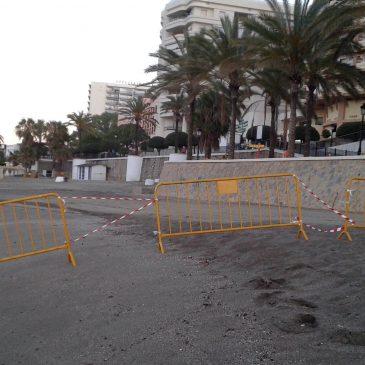 El Ayuntamiento decreta el luto oficial por el suceso que ha ocurrido en la playa de La Venus