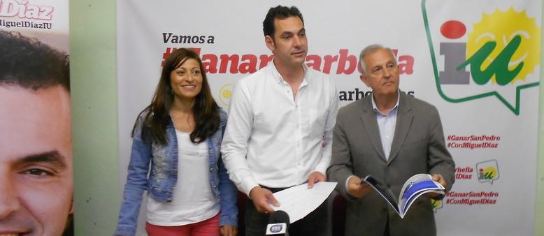 """IU propone a todos los partidos un pacto con 5 medidas para garantizar un Ayuntamiento """"transparente y participativo"""""""